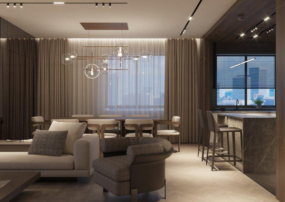 Квартира для молодой семьи 197 кв.м.